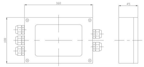 供应称重传感器接线盒批发